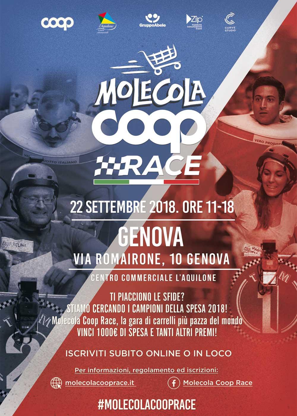 molecola coop race genova 2018