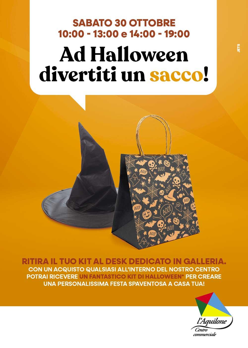 30 ottobreAd Halloween divertiti un sacco!
